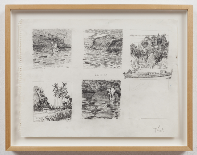 , 'Untitled (Five Landscapes),' 1970, Mai 36 Galerie