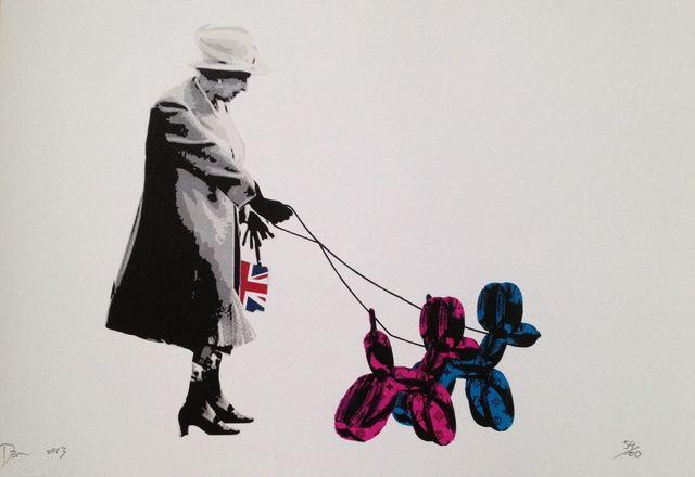 Death NYC, 'Queen Dog B', 2013, Art276