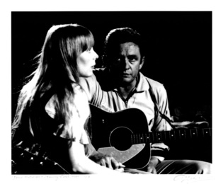 Joni Mitchell and Johnny Cash, 1969