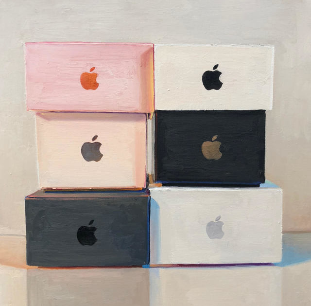 , 'Six Boxes,' 2018, Rosenthal Fine Art