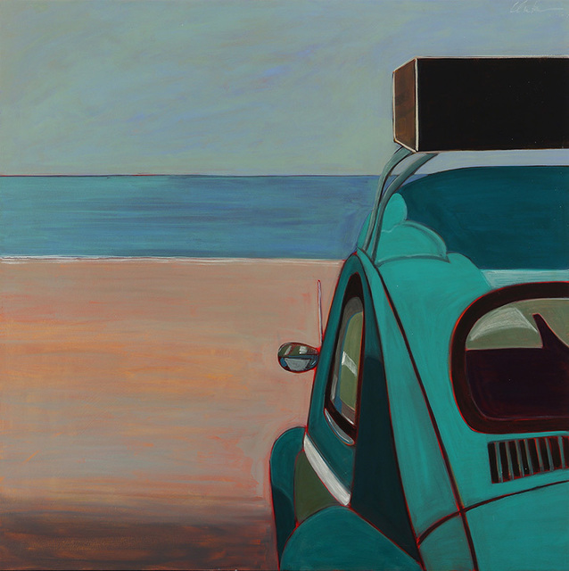 , 'VW Bug in Green,' 2014, Tasende Gallery