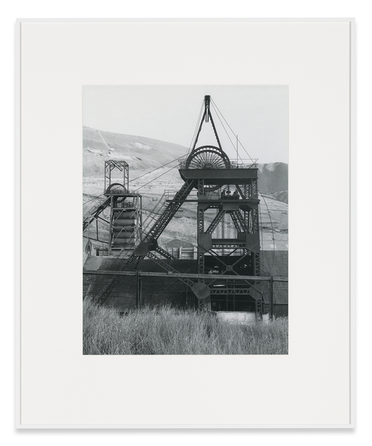 , 'Winding Tower, Garw Colliery, Ponty Cymmer, South Wales, GB,' 1973, Sprüth Magers