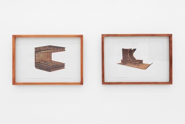 , 'Broken Ship I & II,' 2019, Gallery MOMO