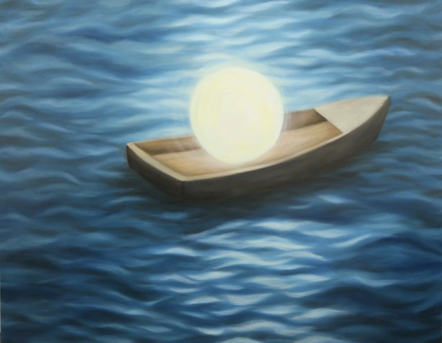 , 'A Full Moon Boat,' 2014, Georges Berges Gallery