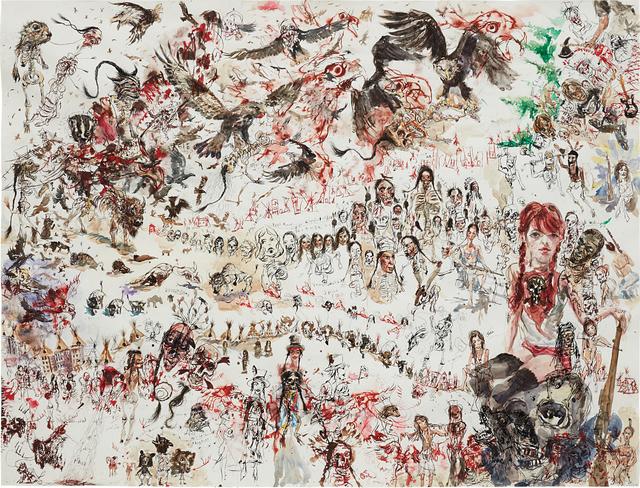 Brad Kahlhamer, 'Desert Forest City', 2004, Phillips