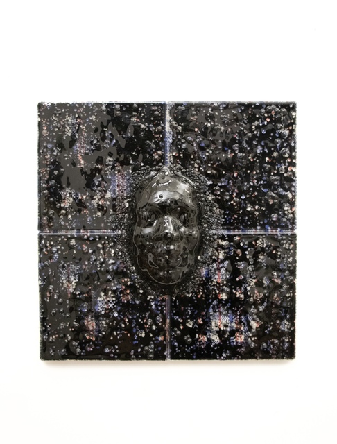 Layo Bright, 'Point of Last Scatter', 2020, Sculpture, Ghana must go bag, kiln formed glass, Superposition