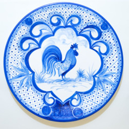 Pair of History of the World Ceramic Plates- History of the World and History of the World