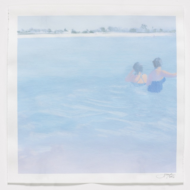 , 'Two Bathers,' 2016, Reynolds Gallery