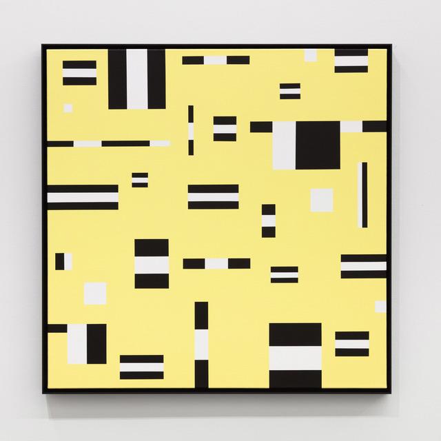 Douglas Coupland, 'Facial Calibration', 2020, Painting, Acrylic on canvas, Daniel Faria Gallery