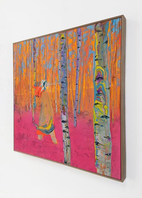 Erik Minter, 'Endemic Eyes', 2020, Painting, Acrylic, spray paint on canvas, Daniel Raphael