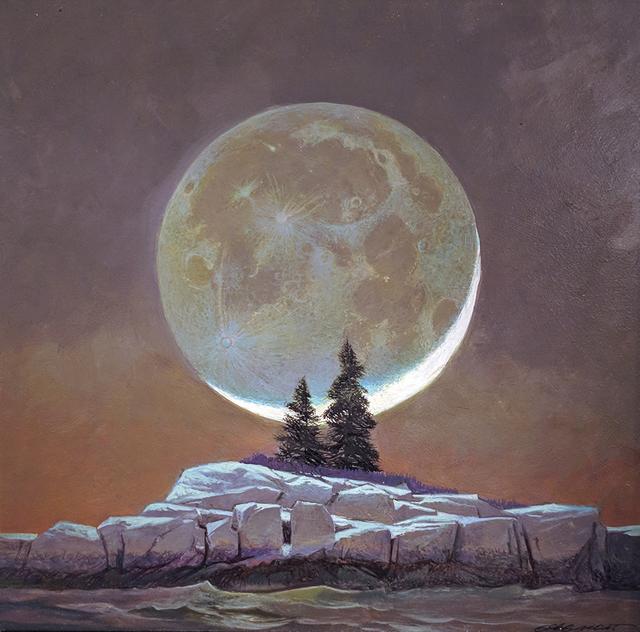 Greg Mort, 'Study for Lunar Sentinels', 2016, Somerville Manning Gallery