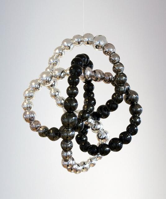 , 'Noeud noir miroir,' 2013, Galerie Perrotin