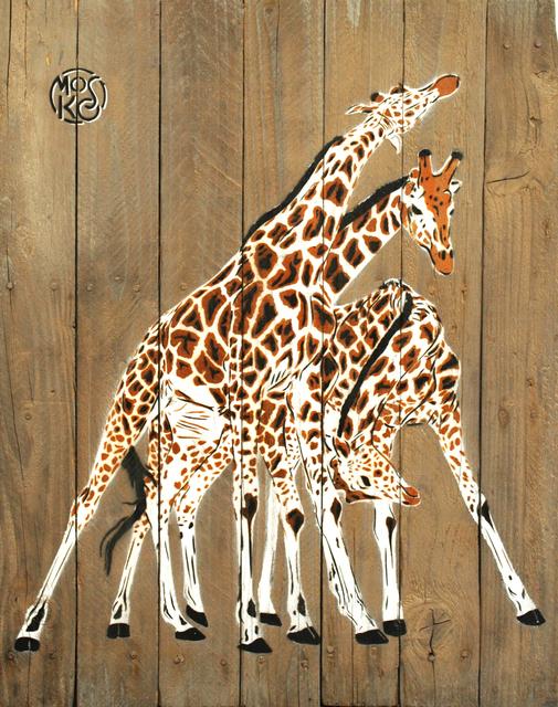, 'Trois Girafes,' 2016, Galerie Art Jingle