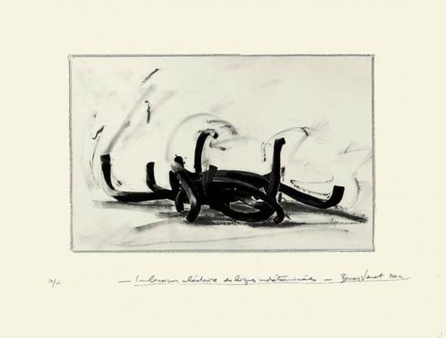 , 'Combinaison Aléatoire Des Lignes Indéterminés,' 2004, artrepublic