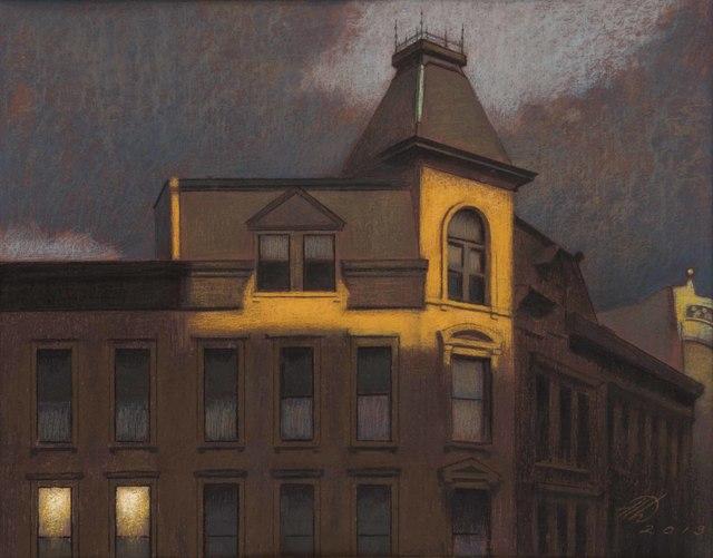 , 'Sunset Reflections, Flatbush Avenue,' 2013, Gerald Peters Gallery