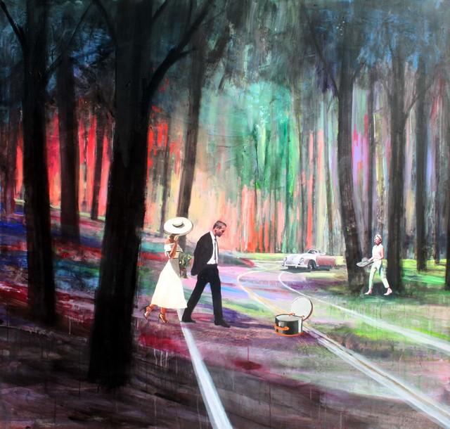 , 'El desmogue,' 2017, Aurora Vigil-Escalera Art Gallery
