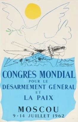 Pablo Picasso, 'Poster for the Congress on Peace and Disarmament', 1962, Hidden