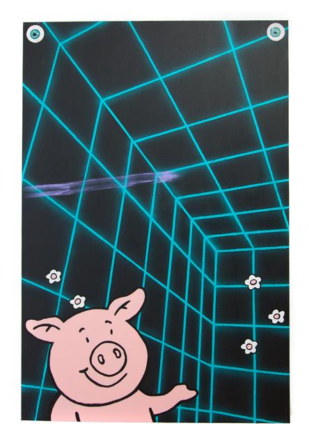 , 'Percy's Playground,' 2017, Miranda Kuo Gallery