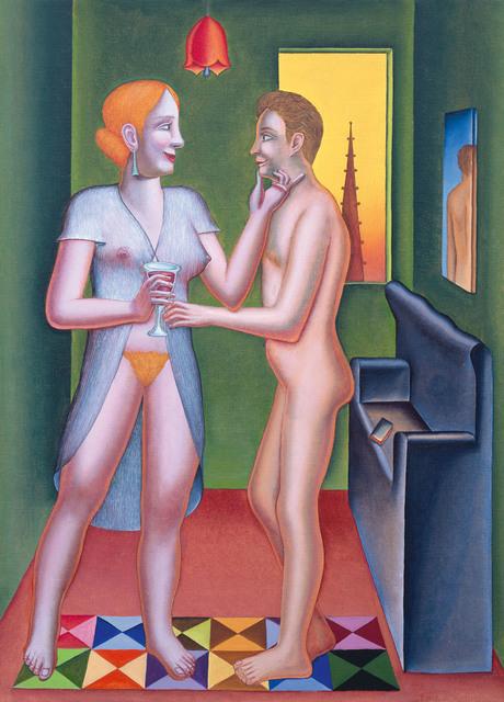 , 'Le verre de rouge / Das Glas Rotwein,' 2005, Galerie Lelong & Co.