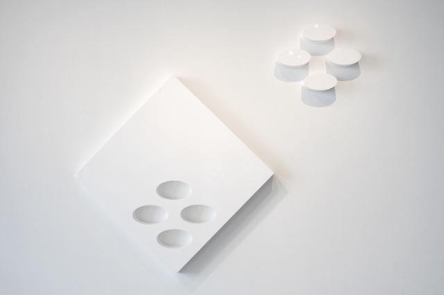 Lori Cozen-Geller, 'Family (white)', 2020, Sculpture, High gloss automotive paint on wood and laminate, Jonathan Ferrara Gallery