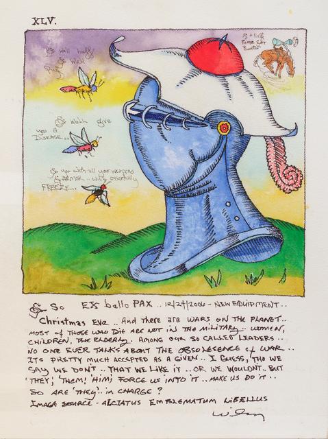 , 'Ex Bello Pax,' 2006, Hosfelt Gallery