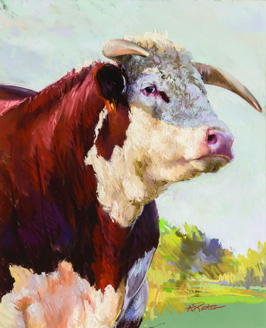 , 'Bull,' Contemporary, Cross Gate Gallery