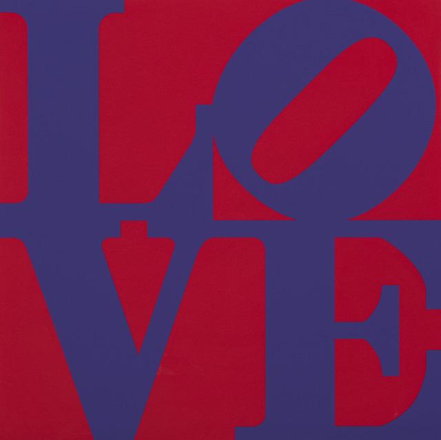 , 'Book of Love (Purple/Red),' 1996, Contini Art UK