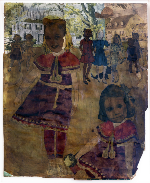 Henry Darger, 'Untitled', n.d., Drawing, Collage or other Work on Paper, Mixed media, collage, and watercolor, Andrew Edlin Gallery