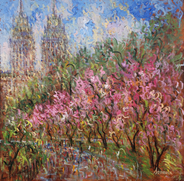 , 'Central Park, Spring,' 2016, Hazelton Fine Art Galleries