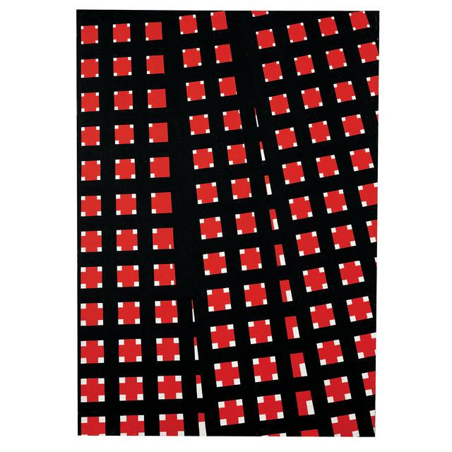 Mario Nigro, 'Spazio totale: divergenze in rosso', 1959, A arte Invernizzi