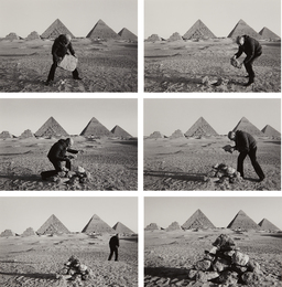 Duane Michals, 'I Build a Pyramid,' 1978, Phillips: The Odyssey of Collecting