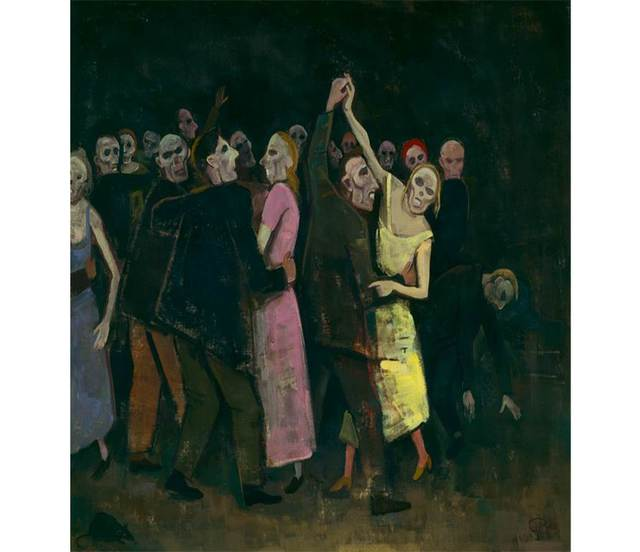 , 'Death Dance,' 1946, Centre for Fine Arts (BOZAR)