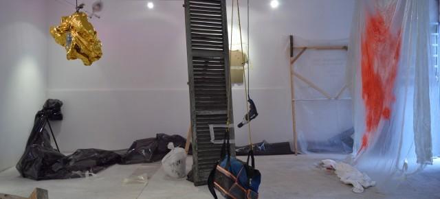 , 'Nero (installation view),' 2015, Raffaella De Chirico