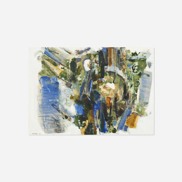 John Harrison Levee, 'Gouache Number XVII', 1957, Wright