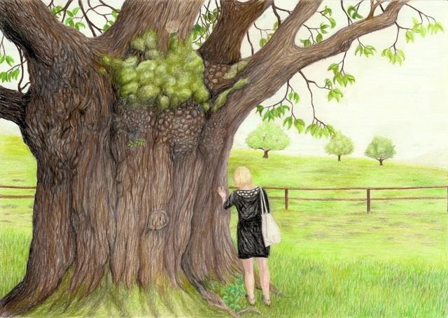 , 'Tree,' 2017, Kolja Kramer Fine Arts