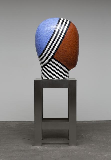 , 'Raku Head Covered in Mosaic Tile ,' 2015, Duane Reed Gallery