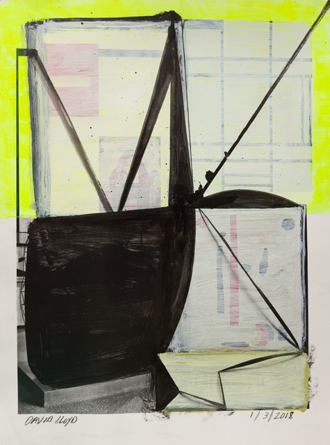 , 'Untitled (January 3),' 2018, Klowden Mann