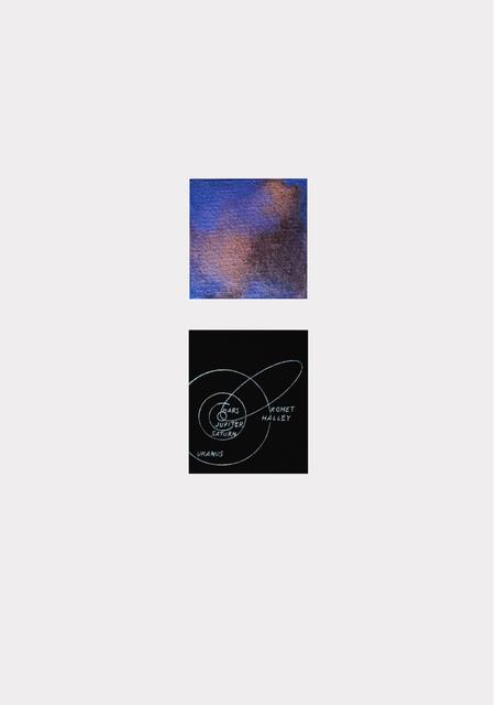 , 'Comet,' 2016, BERLIN BLUE art