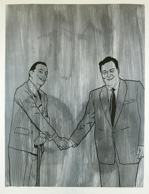 , 'Gleason meets Dali (Benjamin Weisman & Jim Shaw),' 1992, Galerie Krinzinger