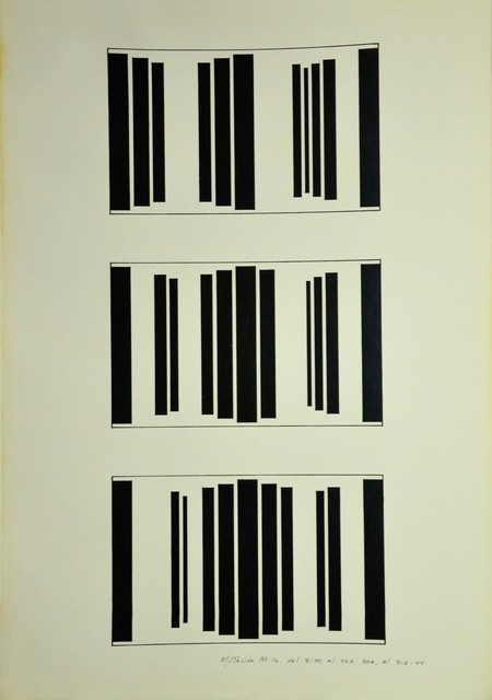 , 'Mutación #16, del 8:40, al 44A:30 A, al 31 A:44,' 1981, Henrique Faria Fine Art