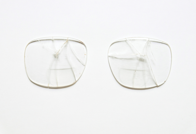 , 'Attempt of Reconstruction (Glasses),' 2016, Galerie Nordenhake