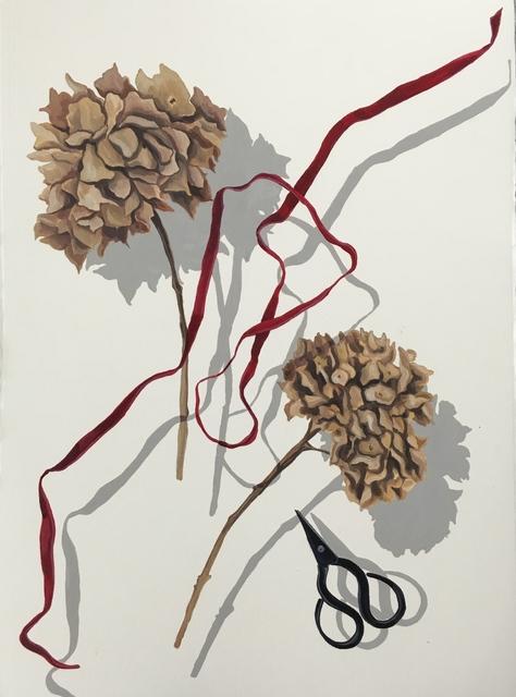 Reysi Kamhi, 2016, Painting, Oil on paper, Pg Art Gallery