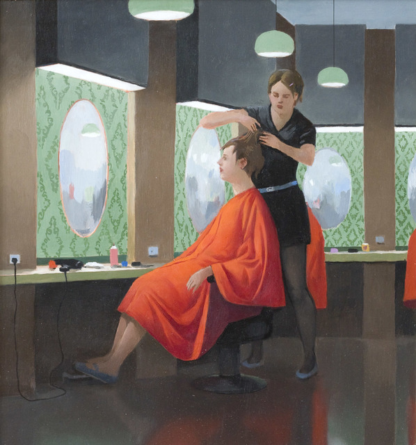 , 'Hair Cut,' 2017, THE GRASS IS GREENER