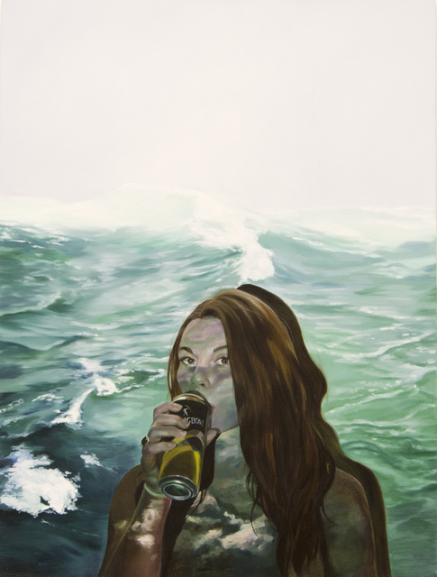 , 'Drinking To Stop From Drowning,' 2017, Winsor Gallery