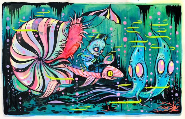 , 'Sandoval's Ship   ,' , Corey Helford Gallery