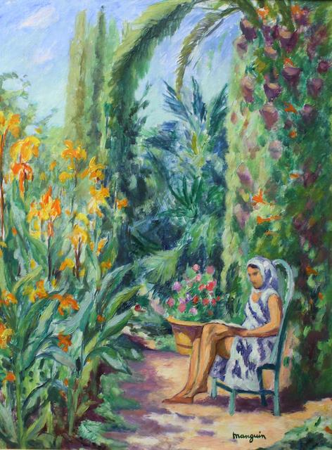 , 'Odette dans le jardin de l'Oustalet,' 1933, Daphne Alazraki Fine Art
