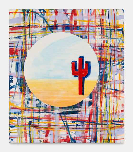 Walter Swennen, 'Untitled (cactus rouge)', 1998, Xavier Hufkens