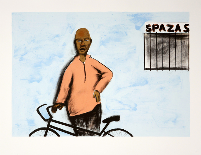 , 'Appointment at the Spaza Shop,' 2018, Goodman Gallery