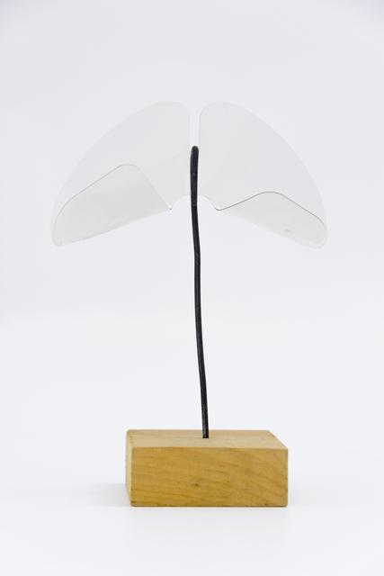 B. Wurtz, 'Untitled (plastic t-shirt insert)', 1979, Sculpture, Wood, wire, plastic, Maisterravalbuena