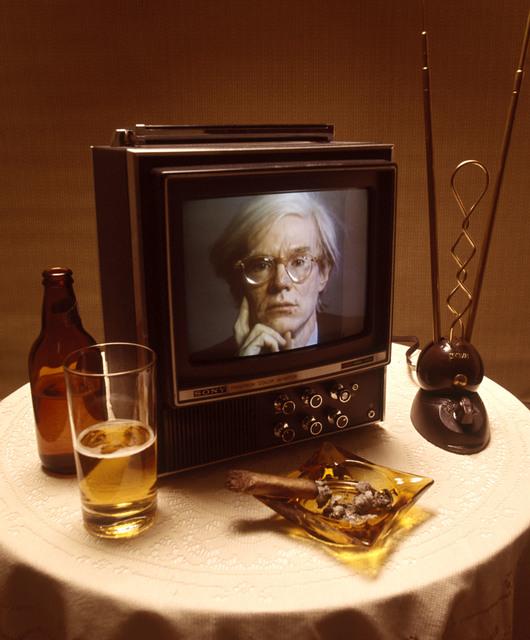 , 'Andy Warhol on TV,' 1976, CAMERA WORK